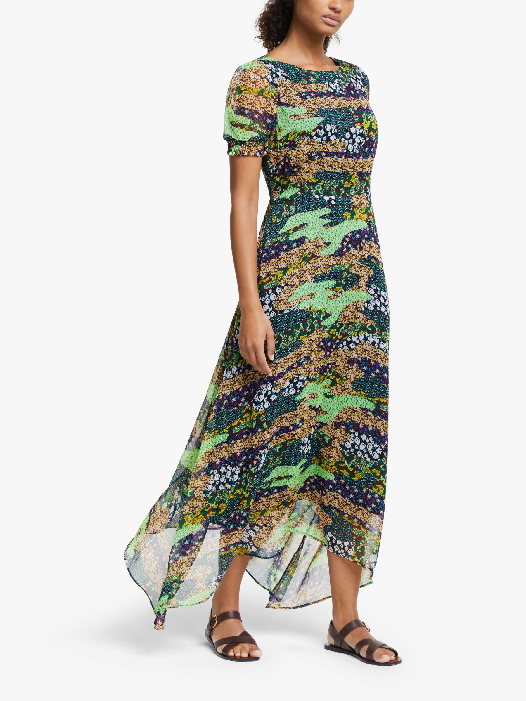 Y.a.s Y.A.S Mixy Print Maxi Dress, Seaspray