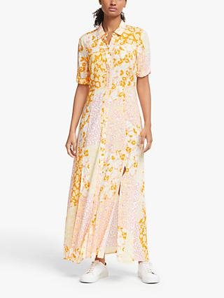 Y.A.S Yaspatcha Floral Print Maxi Dress, Patcha