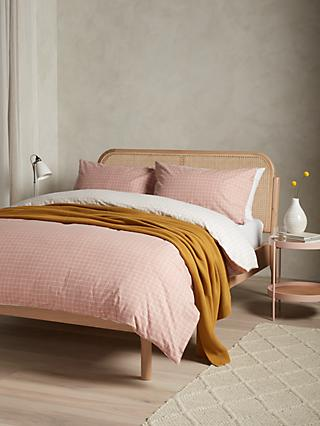 House by John Lewis Grid Duvet Cover Set