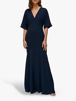 Whistles Jess Maxi Dress, Navy