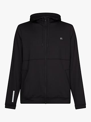 Calvin Klein Performance Better Zip Up Hoodie, Black