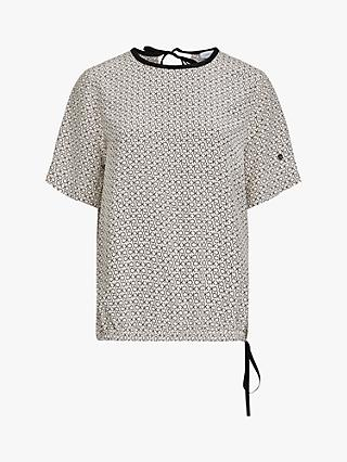 Calvin Klein Monogram Top, White/Multi