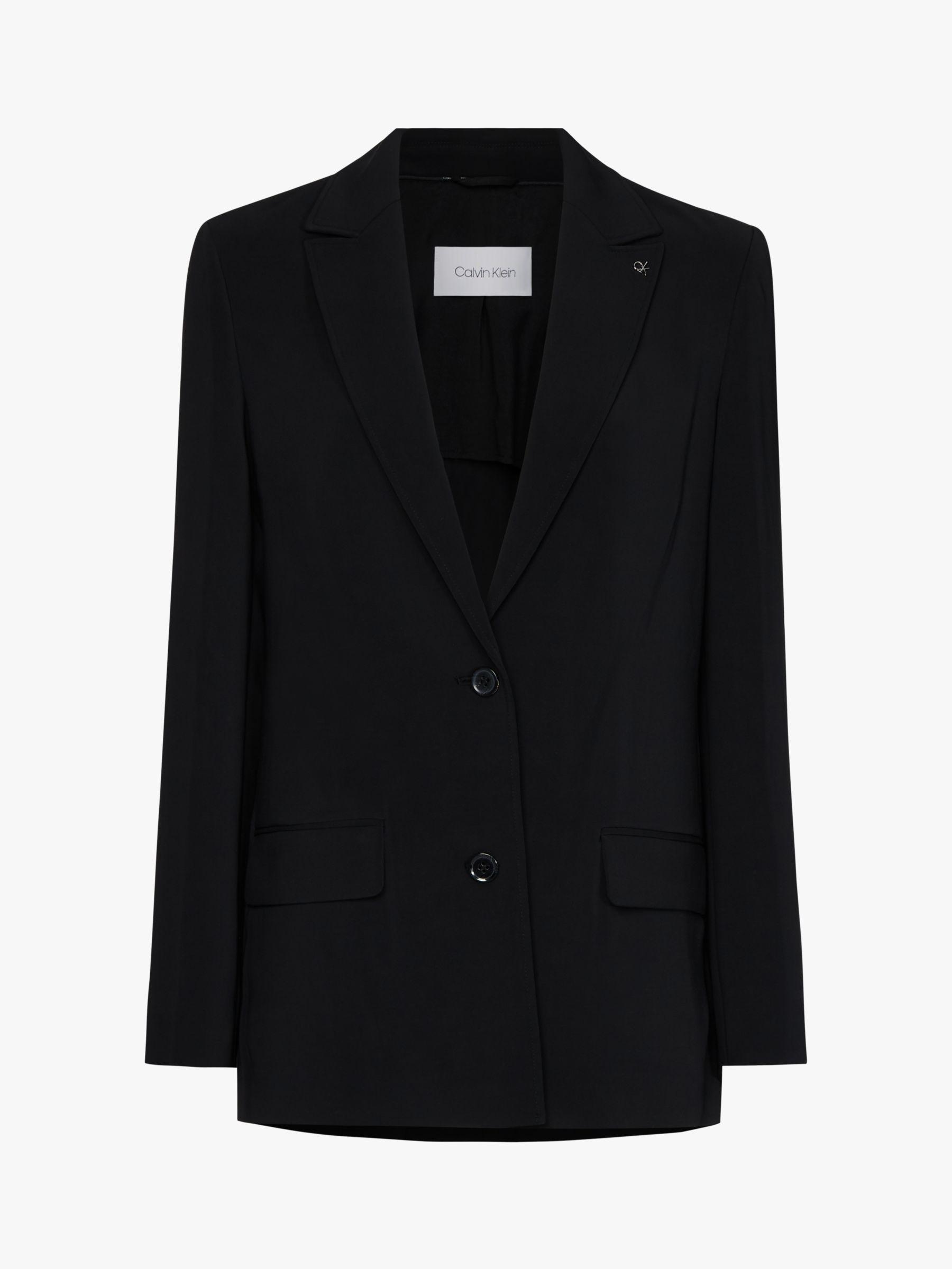 Calvin Klein Calvin Klein Throw On Blazer, Black