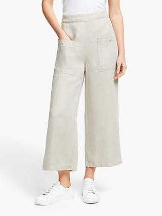 Joie Garin Wide Leg Trousers, Canvas