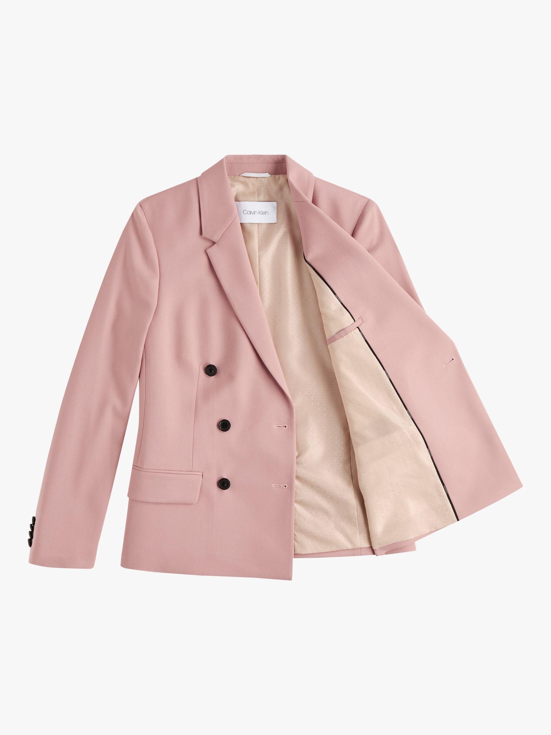 Calvin Klein Calvin Klein Fine Twill Blazer, Pink