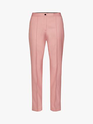 Calvin Klein Twill Cigarette Trousers, Pink