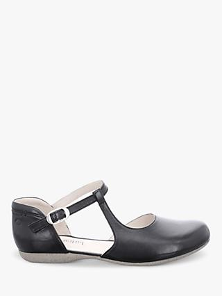 Josef Seibel Fiona 65 Leather Buckle Strap Pumps