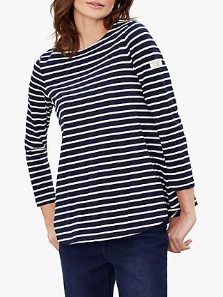 Joules Harbour Light Swing Jersey Top, Navy