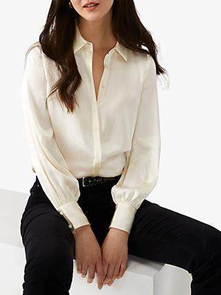 Pure Collection Silk Satin Shirt
