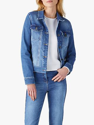 Pure Collection Denim Jacket, MId Wash
