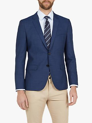 HUGO by Hugo Boss Arti193 Super Slim Suit Jacket, Bright Blue