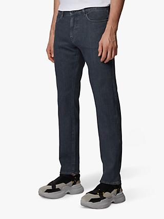 BOSS Delaware Slim Fit Jeans, Medium Grey