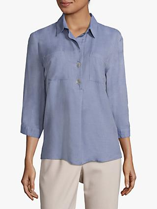 Betty & Co. Two Pocket Blouse, Bijou Blue