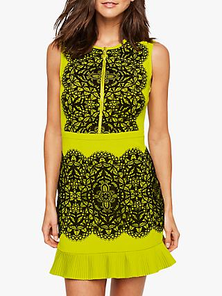 Damsel in a Dress Lanna Lace Dress, Chartreuse