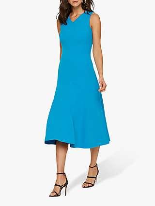 Damsel in a Dress Latasha Seamed Midi Dress, Turquoise