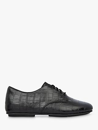 Fitflop Adeola Derby Leather Lace Up Shoes, Black