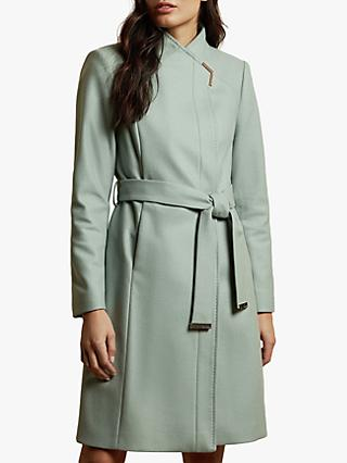 Ted Baker Ellgenc Belted Wool Blend Coat