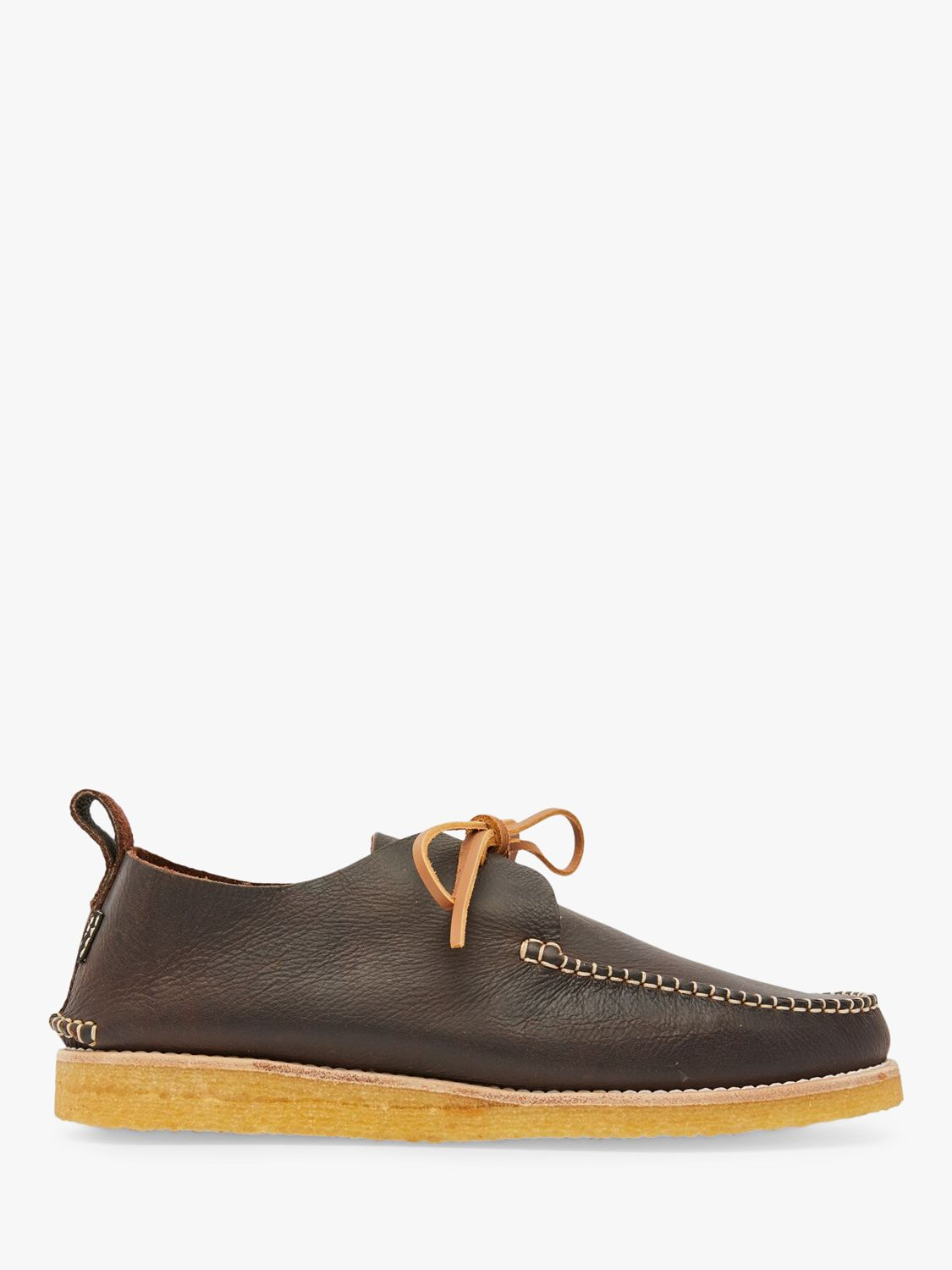 yogi Yogi Lawson Tumbled Leather Moccasin Shoes