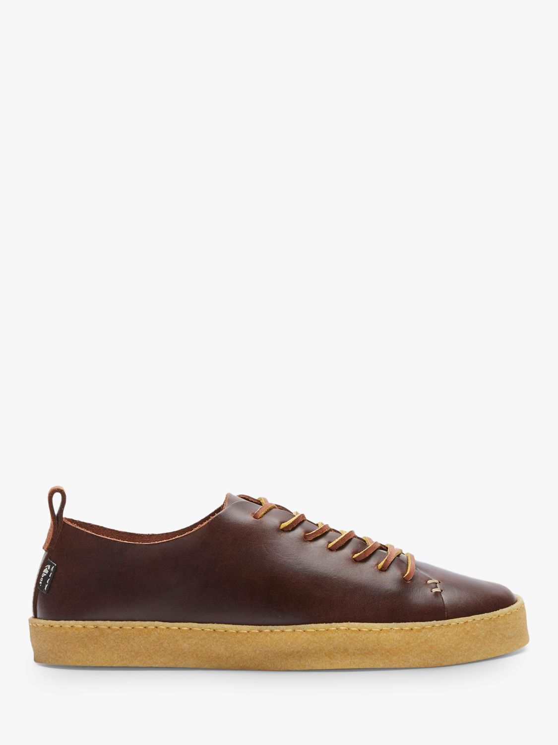 yogi Yogi Rufus Leather Trainers, Brown