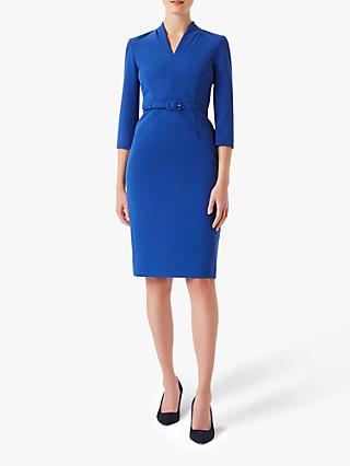 Hobbs Dianna Dress, Cobalt Blue
