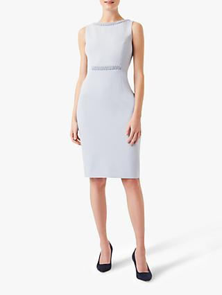 Hobbs Gill Dress, Pale Blue