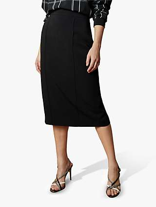Ted Baker Raees Crepe Pencil Skirt, Black