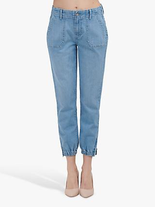 Paige Mayslie Jogger Jeans, Morning Dew