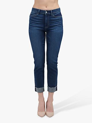 Paige Hoxton Slim Cropped Jeans, Shrine