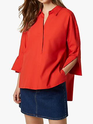 French Connection Aoko Rhodes Poplin Popover Shirt