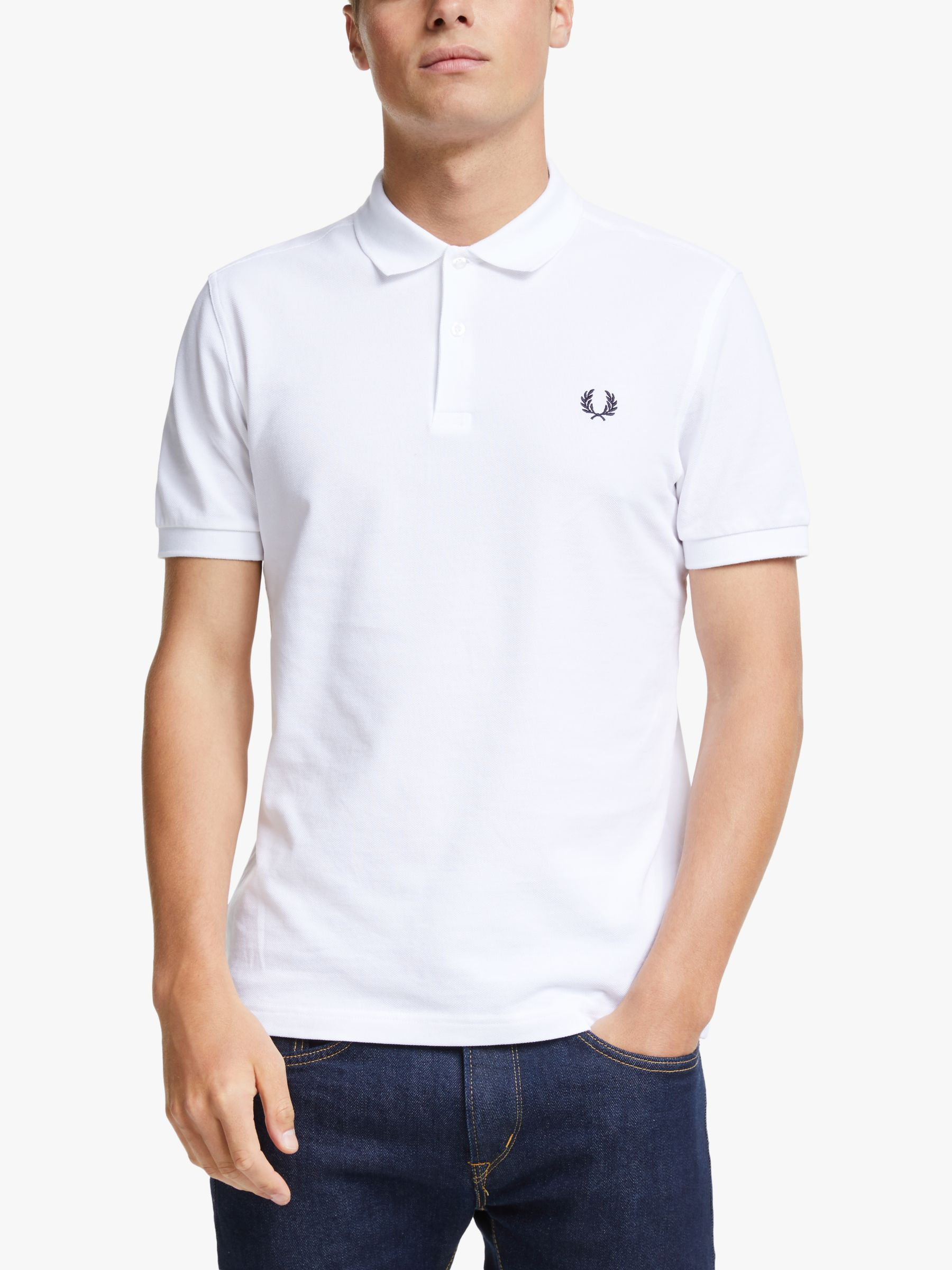 Fred Perry Fred Perry Plain Regular Fit Polo Shirt