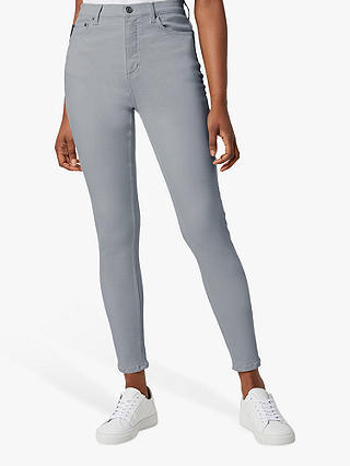 Buy French Connection Rebound High Waisted Skinny Jeans, Salt Water, 6 Online at johnlewis.com