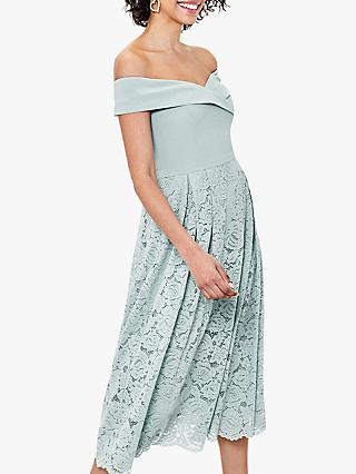 Oasis Lace Skirt Bridesmaid Dress