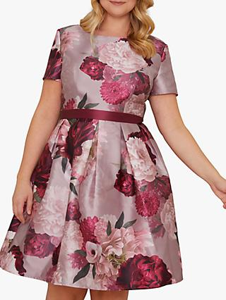 Chi Chi London Curve Fille Dress, Mink