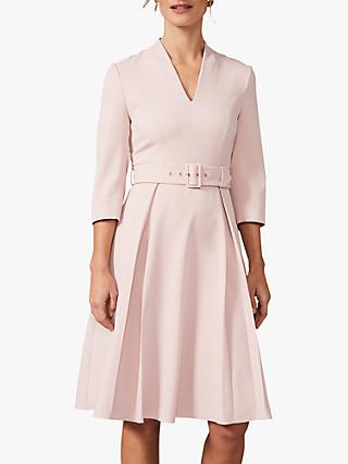 Phase Eight Margot Belted Dress, Antique Rose