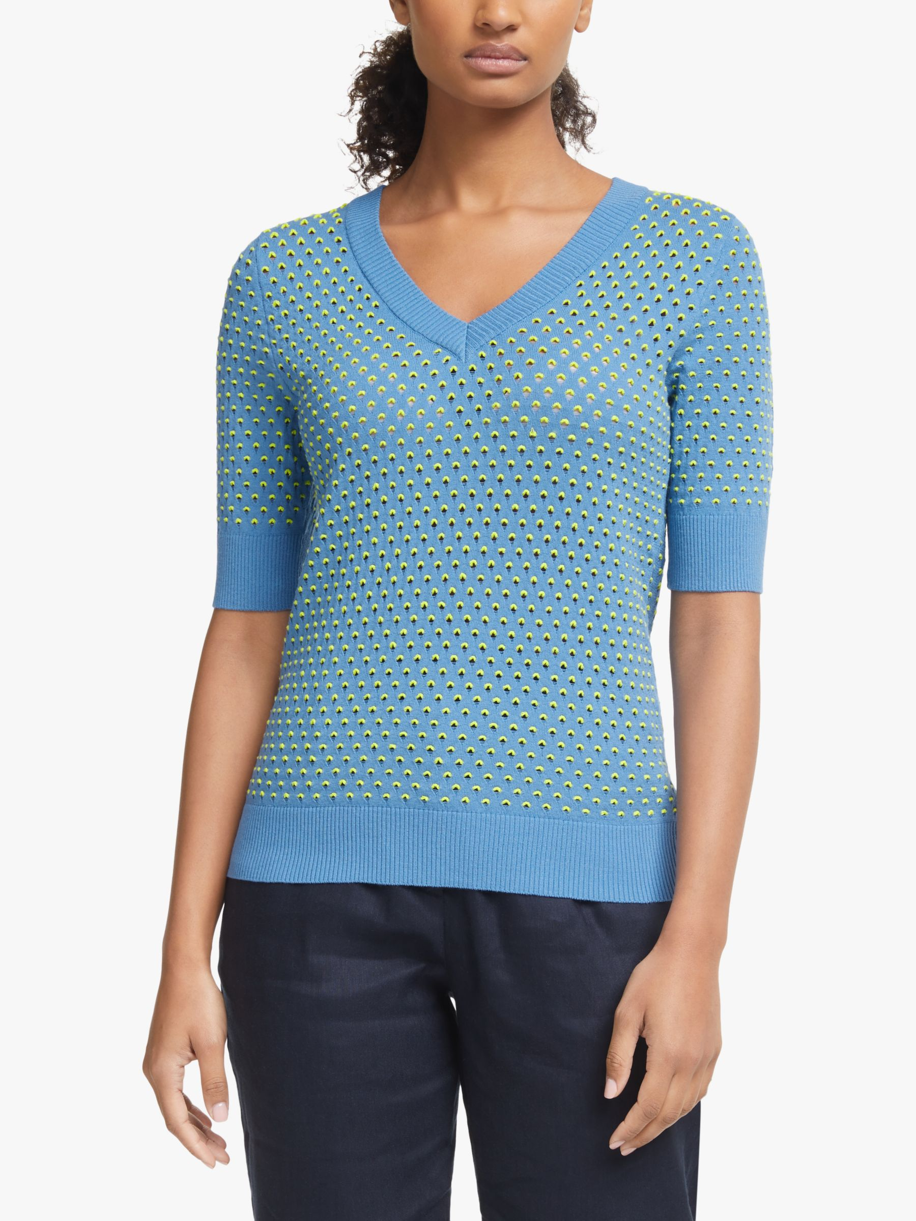 Numph Numph Nubrynn Textured Short Sleeve Knit