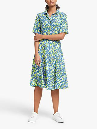 Numph Nuaideen Floral Shirt Dress, Pacific Coast