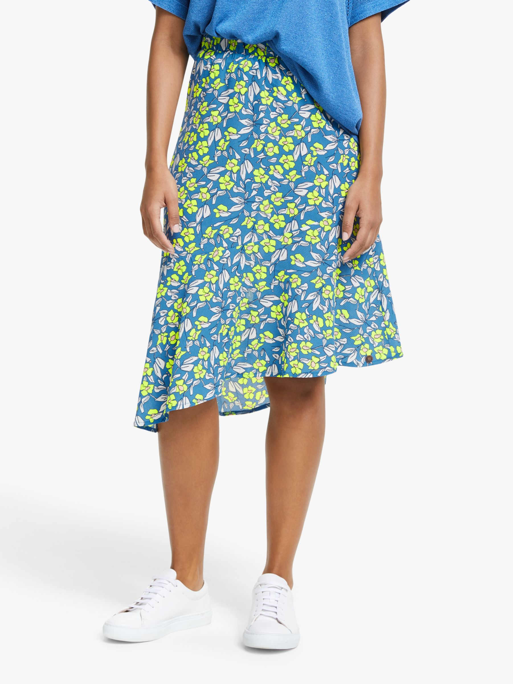 Numph Numph Nuaideen Floral Skirt, Pacific Coast