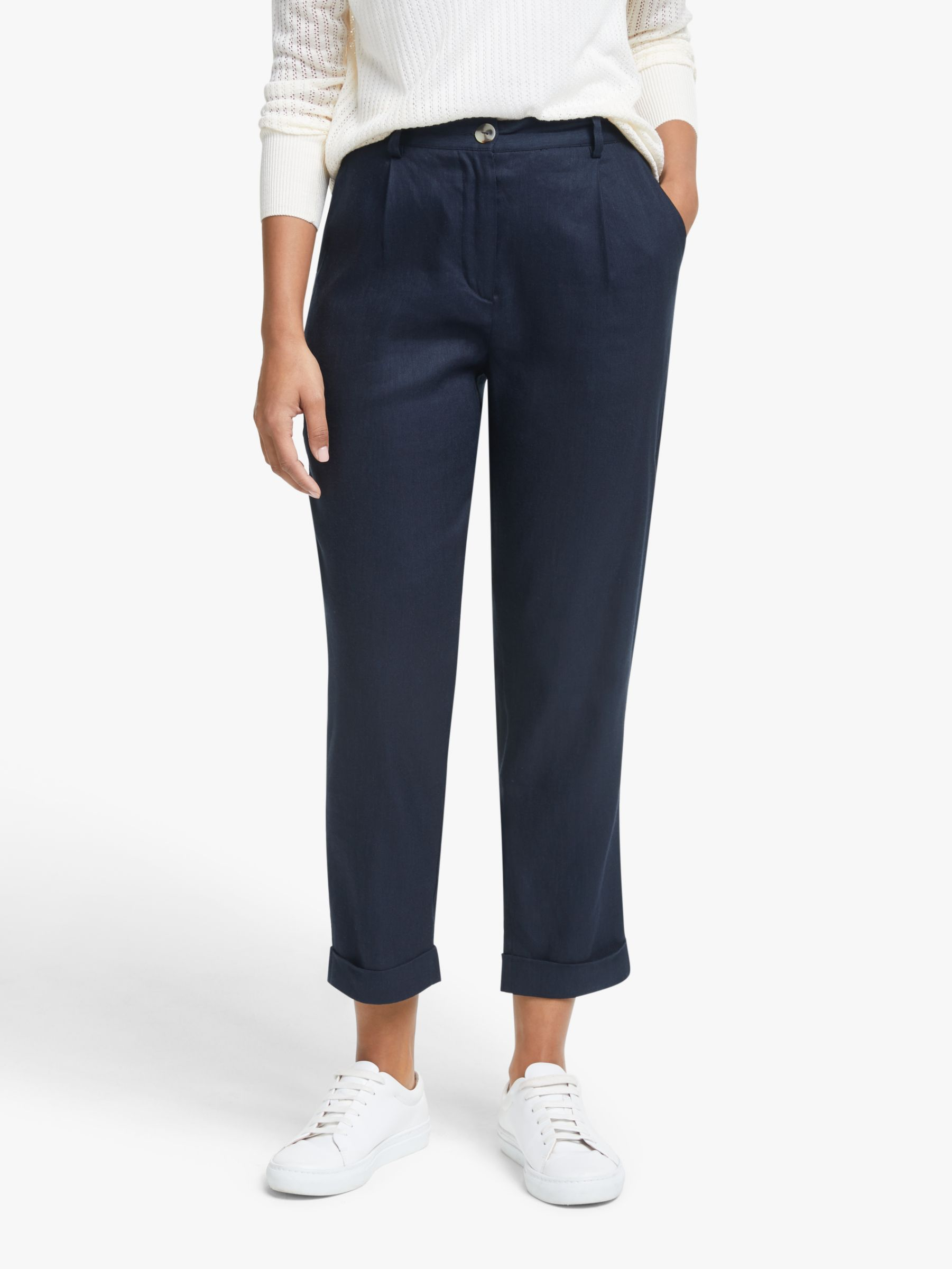 Numph Numph Arianell Trousers, Sapphire
