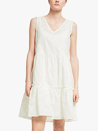 Numph Nubethan Dress, Bright White