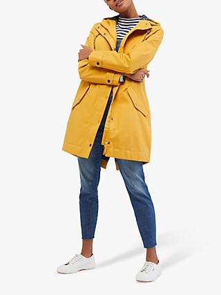 White Stuff Middlehaum Rain Mac, Yellow