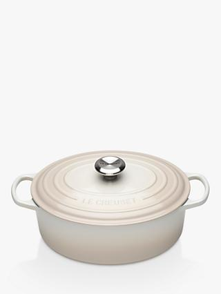 NEW - Le Creuset Signature Cast Iron Oval Casserole
