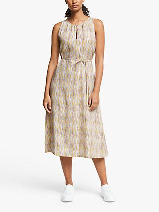 People Tree Agatha Sleveless Midi Dress, Multi