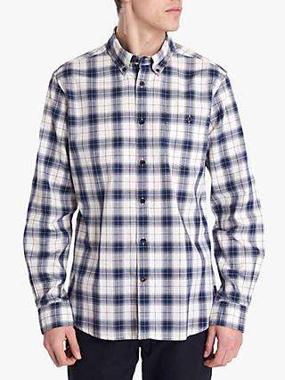 Barbour National Trust Combe Check Shirt, Neutral