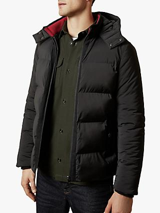 Ted Baker Scrantn Heavy Padded Jacket, Black