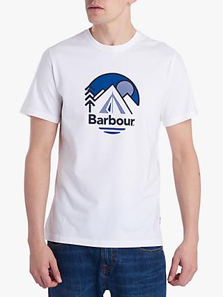 Barbour National Trust Peak Print Short Sleeve T-Shirt