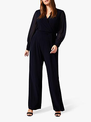 Studio 8 Denver Wrap Jumpsuit, Navy