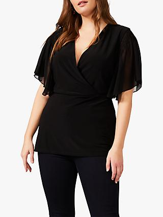Studio 8 Francine Sheer Top, Black