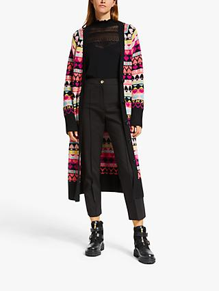 Somerset by Alice Temperley Intarsia Cardigan, Multi