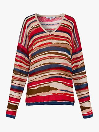 Gerard Darel Erika Linen Top, Multi