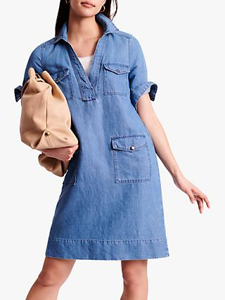 Gerard Darel Samantha Denim Shift Dress, Blue